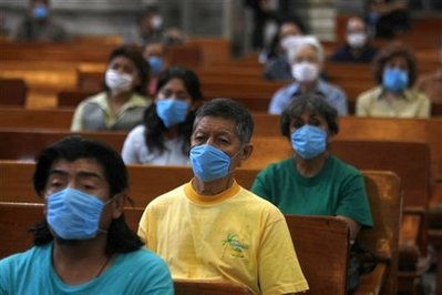 APTOPIX Mexico Swine Flu